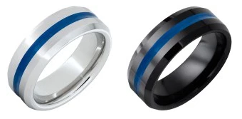 Serinium Jewelry Blue Line